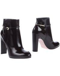 Nina Ricci Ankle Boots - Lyst
