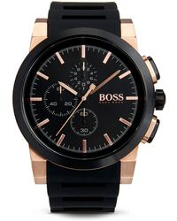 Hugo Boss 1513030 | Chronograph Silicone Strap Neo Chrono Watch - Lyst