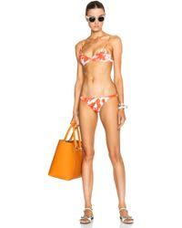 Mikoh Swimwear Miyako Bikini Bottom red - Lyst