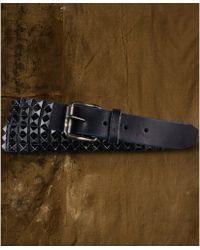 Denim & Supply Ralph Lauren - Pyramid Studded Leather Belt - Lyst