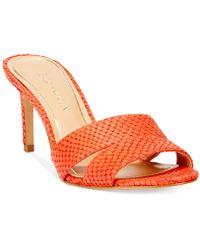 Enzo Angiolini Alisity Slide Dress Sandals - Lyst