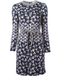 Tory Burch Anette Silk Dress - Lyst