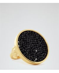 Reiss - Xenia Ring With Crystals From Swarovski - Lyst