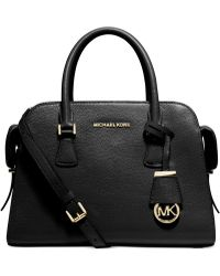 Michael Kors Michael Harper Medium Satchel - Lyst