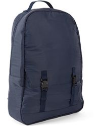 C6   Simple Pocket Back Pack Rip Stop Blue   Lyst