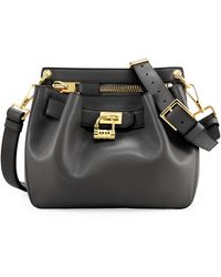 Tom Ford Womens Small Lockfront Crossbody Bag Black - Lyst