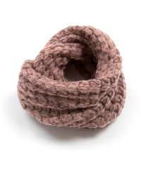 Lavand - Knitted Wrap - Lyst