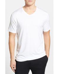 Michael Kors Men'S Stretch Modal V-Neck T-Shirt - Lyst