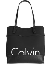 Calvin Klein   Neoprene Tote   Lyst