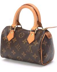 Louis Vuitton Monogram Mini Speedy Handbag - Lyst