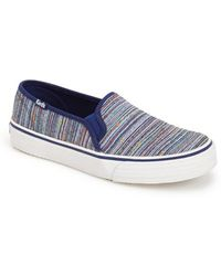 Keds 'Double Decker - Woven Stripe' Slip-On Sneaker - Lyst