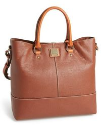 Dooney & Bourke 'Chelsea' Pebbled Leather Tote - Lyst