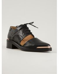 Avelon - Picker Leather Cut-Out Shoes - Lyst