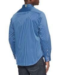 Robert Graham Beachcomber Striped Sport Shirt - Lyst