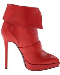 Giuseppe Zanotti boots heel boots ankle boots - Lyst