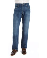 Lucky Brand - 239 Classic Straight R Zenith Point Wash Jeans - Lyst