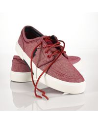 Polo Ralph Lauren Canvas Faxon Sneaker - Lyst