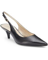 Bandolino Butler Leather Pointtoe Slingbacks - Lyst