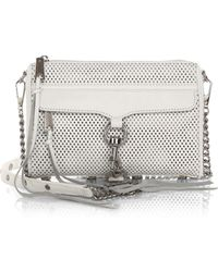 Rebecca Minkoff Mini Mac Perforated Convertible Crossbody Bag - Lyst