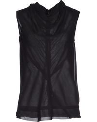 Rick Owens Top - Lyst