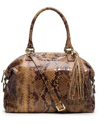 Michael by Michael Kors Large Middleton Topzip Satchel - Lyst
