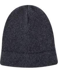 Boglioli - Knitted Merino Wool Beanie Hat - Lyst