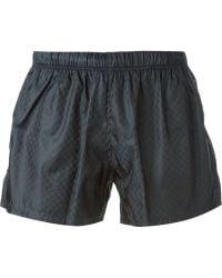 Gucci Guccissima Swim Shorts blue - Lyst