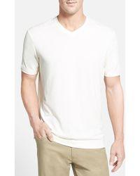 Tommy Bahama 'Pebble Shore' Original Fit V-Neck T-Shirt - Lyst