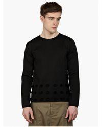 Comme des Garçons Men'S Black Pom-Pom Sweater black - Lyst