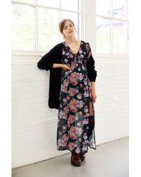 MINKPINK Light Floral Breeze Vneck Maxi Dress - Lyst