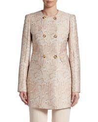 Stella McCartney Snake-pattern Jacquard Jacket - Lyst