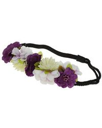 TOPSHOP - Flower Rope Hair Garland - Lyst