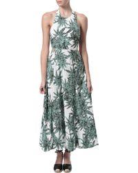 Mara Hoffman Cut Out Maxi Dress - Lyst