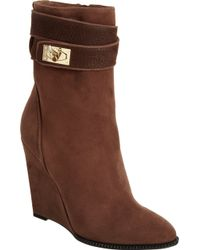 Givenchy - Shark Tooth Wedge Ankle Boot - Lyst