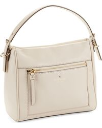 Kate Spade Small Harris Leather Satchel - Lyst