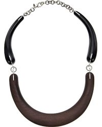 Marni Wood Necklace - For Women - Lyst