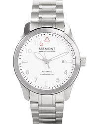 Bremont - Wh-si Solo Stainless Steel Watch - Lyst