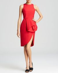 Cameo Dress - Falling Sleeveless Peplum - Lyst