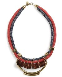 Berry - Rope Statement Necklace - Lyst