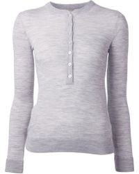 Michael Kors 'Henley' Sweater - Lyst