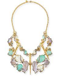 Alexis Bittar Elements Rocky Vine Bib Necklace - Lyst
