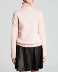 Kate Spade Shimmer Turtleneck Sweater - Lyst
