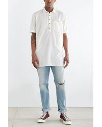 Koto - Short-sleeve Long Popover Shirt - Lyst