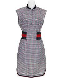 Moncler Gamme Bleu Dress - Lyst
