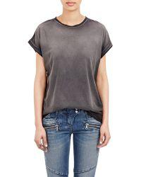 Balmain Tie-Dye T-Shirt gray - Lyst
