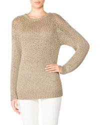 Tamara Mellon Open Stitch Sweater - Lyst