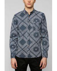 Vanishing Elephant X Uo Ornate Buttondown Shirt - Lyst