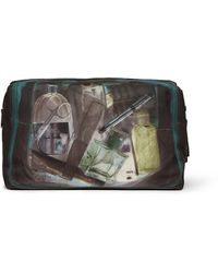 Paul Smith Printed Leathertrimmed Washbag - Lyst