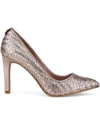 Elliott Lucca - Catalina Woven Leather Court Shoes - Lyst
