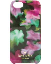 Kate Spade Jade Floral Iphone 5 Case - Lyst